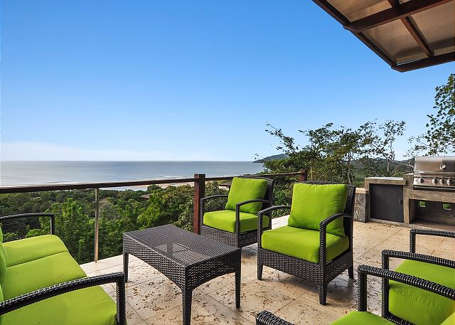 Ocean View Vacation Home for Rent in Tamarindo