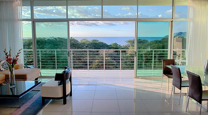 tamarindo ocean view luxury condo for rent