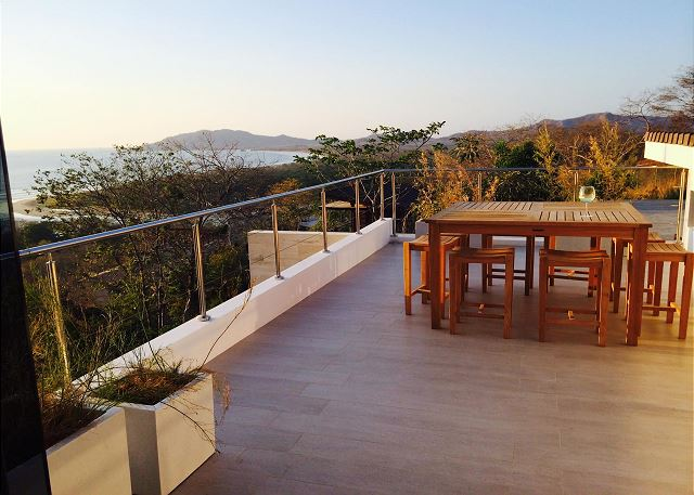 ocean view tamarindo home for rent