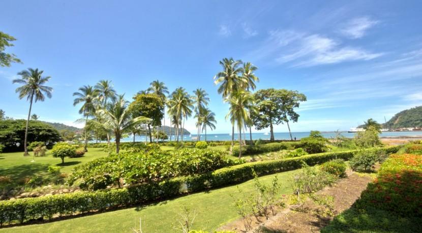 ocean view condo for rent in los suenos costa rica