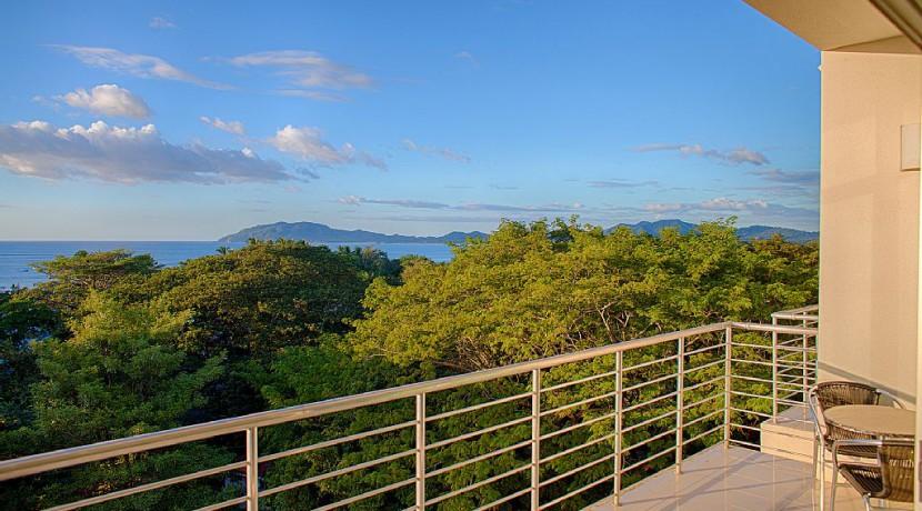 tamarindo ocean view condo for rent