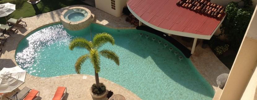 pool at jaco condo