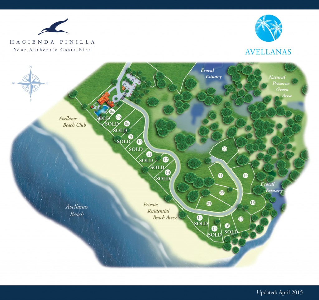 Lot 22 in Avellanas – Hacienda Pinilla's Beachfront Community