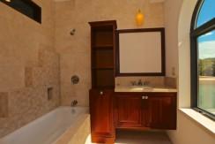 bathroom jaguar village at hacienda del mar