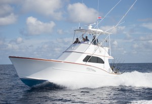 Sports fishing yacht Costa Rica
