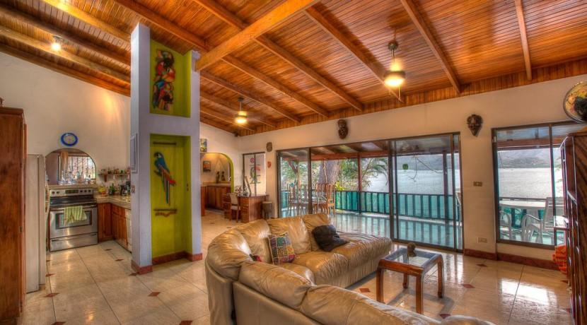 interior flamingo beach costa rica home for sale