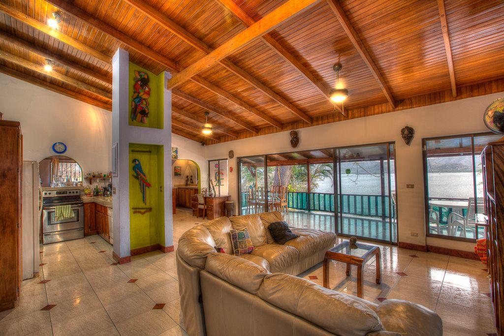 Interior Flamingo Beach Costa Rica Home For