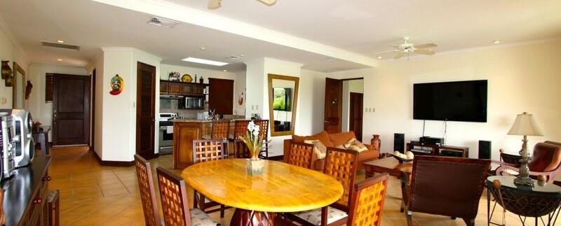 interior of condo for sale in reserva conchal costa rica