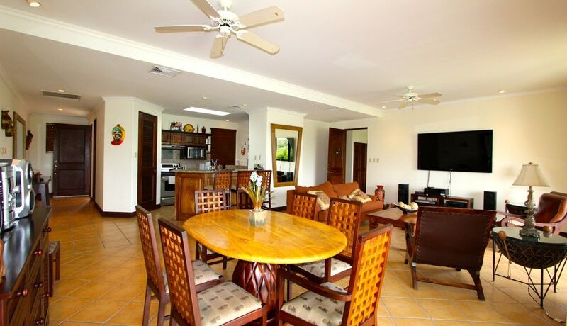 interior of condo for sale in reserva conchal costa rica