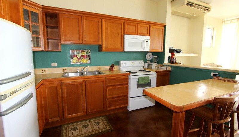 kitchen flamingo beach duplex for sale