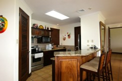 kitchen of condo for sale in guanacaste cr