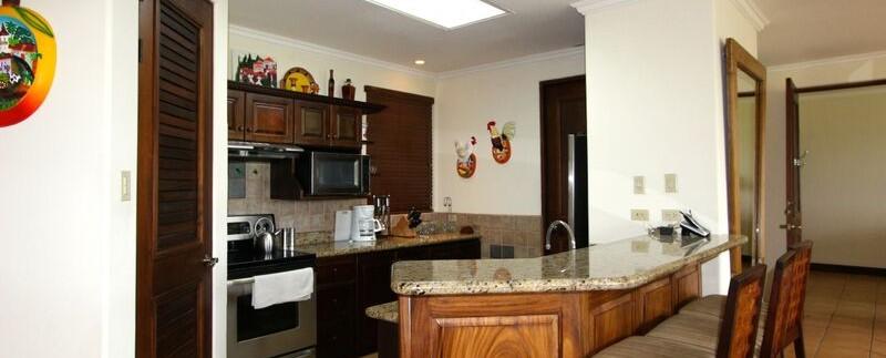 kitchen of condo for sale in guanacaste cr