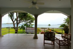 ocean view from beachfront real estate in guanacaste