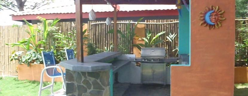 outdoor kitchen flamingo beachhouse costa rica