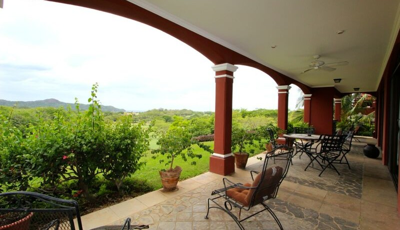 view from reserva conchal property for sale