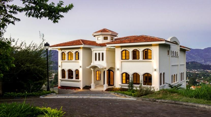 Mediterranean Style Luxury Home In San Jose Costa Rica