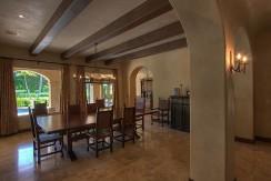 dining casa el tesoro hacienda pinilla costa rica