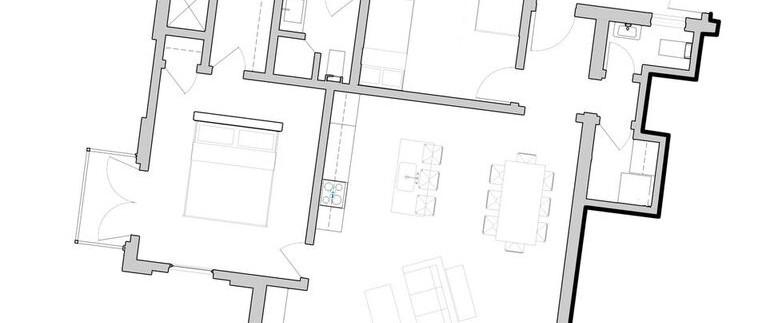 floor plan of plaza central condo