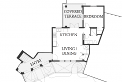 floorplan of las catalinas property for sale