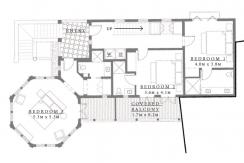 penthouse floorplan