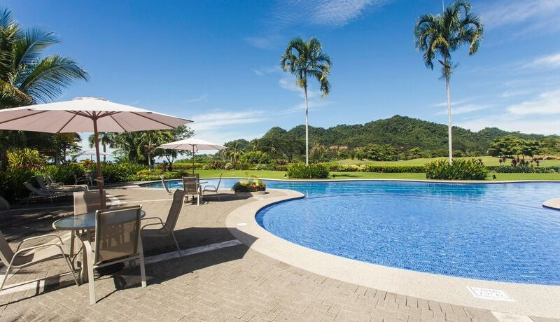 pool with view at residence for sale in costa rica