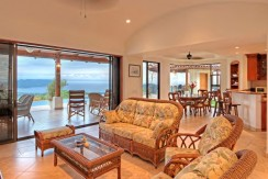 living area of home for sale in costa rica