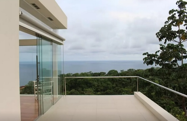 view from deck of seascape villa