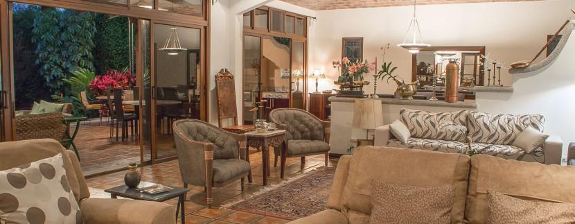 Evergreen Garden Living Room
