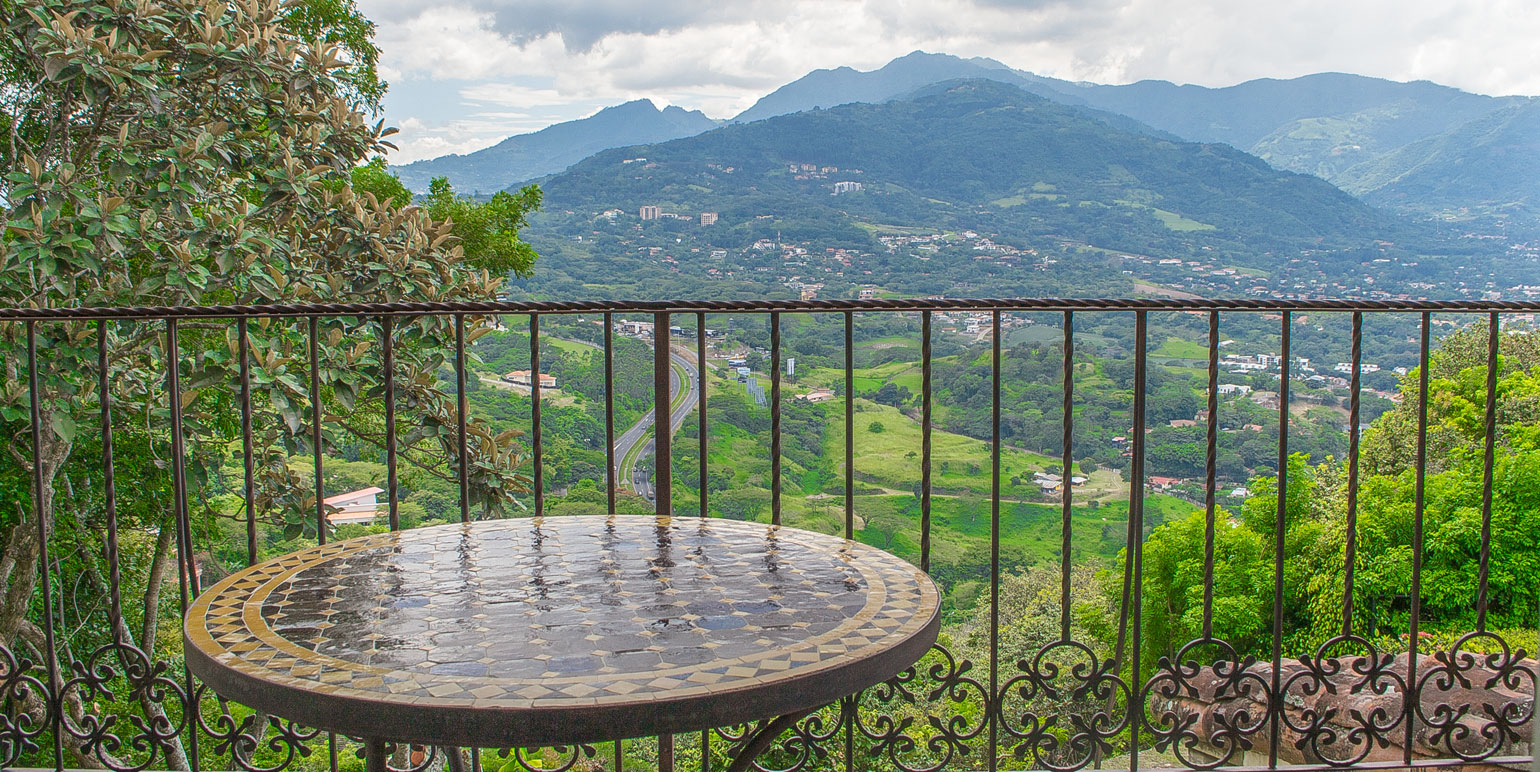 Mountain Eklezion Balcony View Costa Rica Real Estate