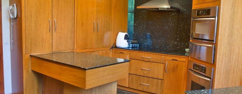 gourmet kitchen in luxury condo san jose