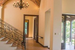 hallway tuscana luxury home costa rica
