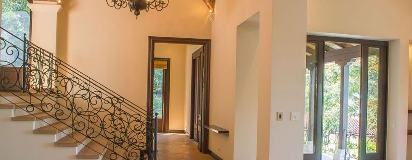 hallway tuscana luxury home costa rica