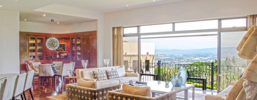 views from luxury villa