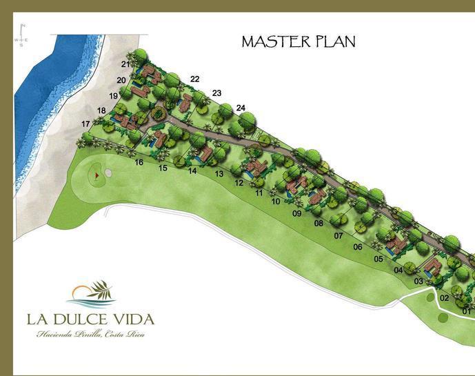 La Dulce Vida Hacienda Pinilla Beachfront Lot For Sale