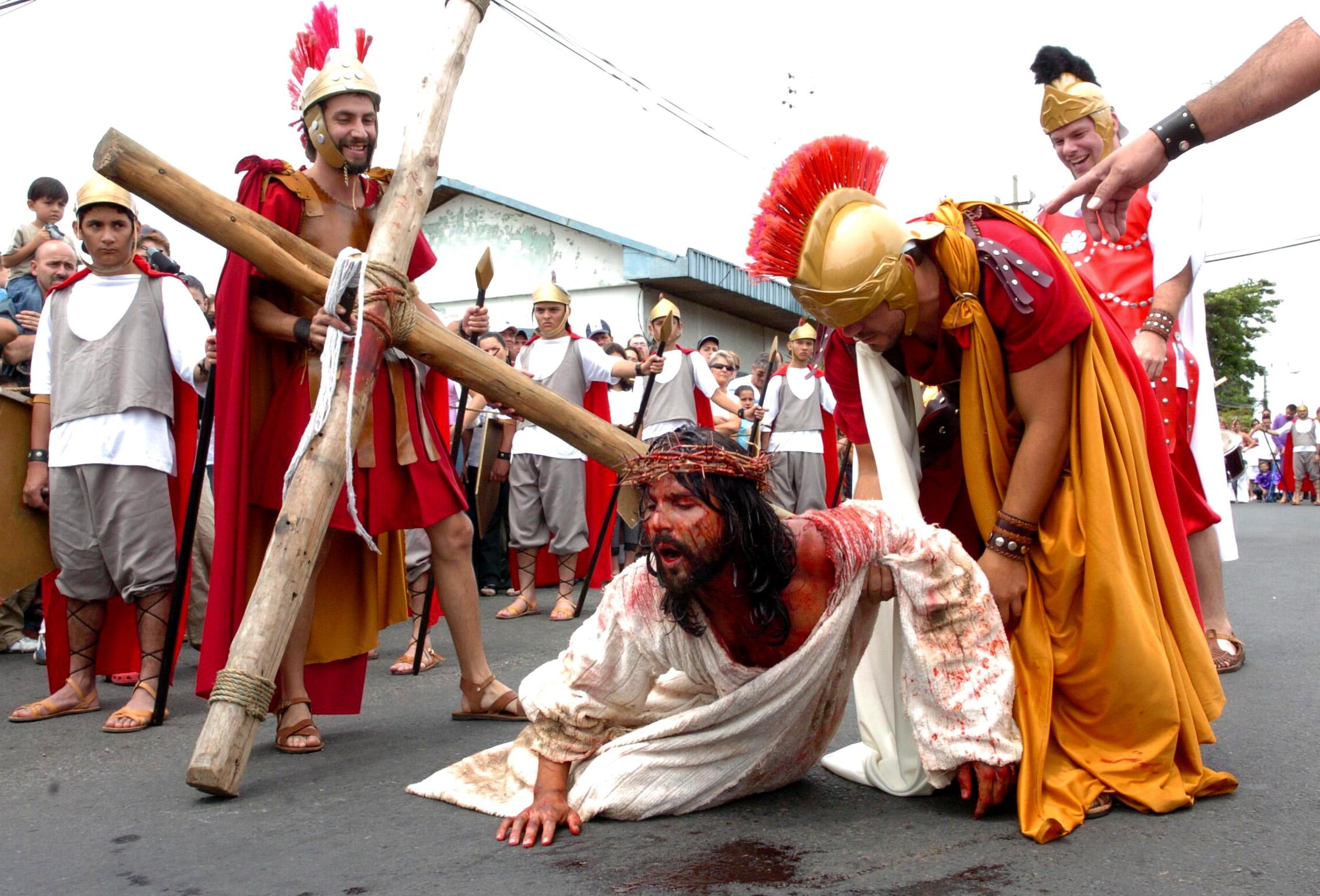 Semana santa in costa rica for Pasion com m