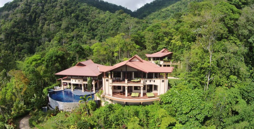 Lavish Private Retreat on 36 Acres Overlooking Bahia Ballena-Uvita
