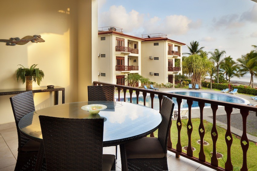 Charming & Tropical Beachfront Condo for Sale at Bahia Azul, Jaco