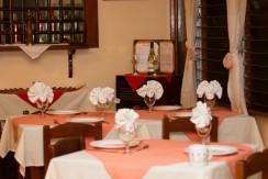 Restaurante La Rosa Set for Dinner