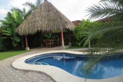 Private Palapa overlooking Pool