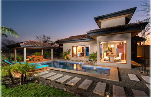 Pool and Back of home