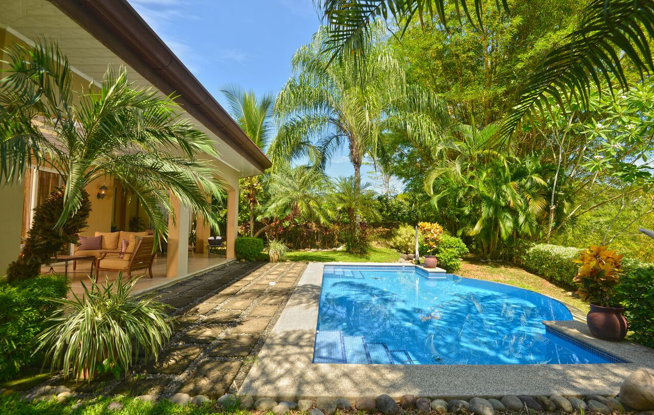 Exclusive Eco Golf Estates Luxury Home in Los Suenos, 5 bedrooms 5 1/2 baths