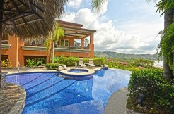 Infinity Pool in Terrazas 3D Condo in Altamira Community Costa Rica