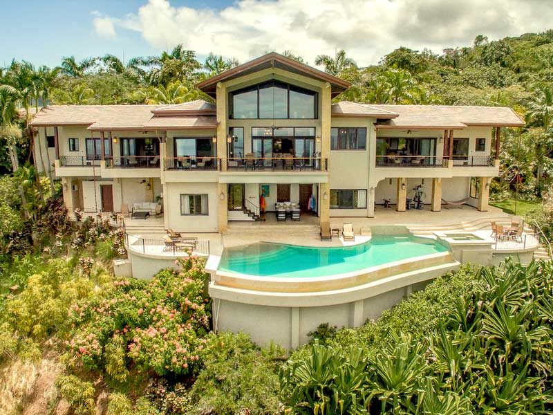 Luxury Estate in Dominical with Big Ocean Views