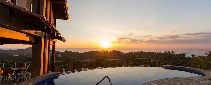 monte mar exterior sunset