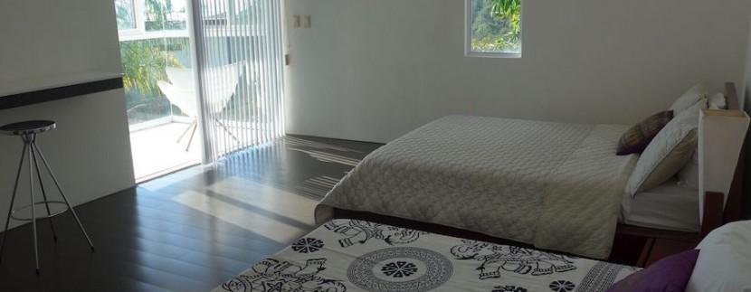 zen villa bedroom