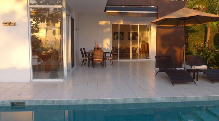 zen villa pool