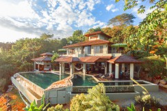 custom built luxury home for sale in dominical costa rica