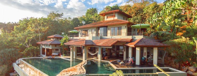 luxury estate home exterior