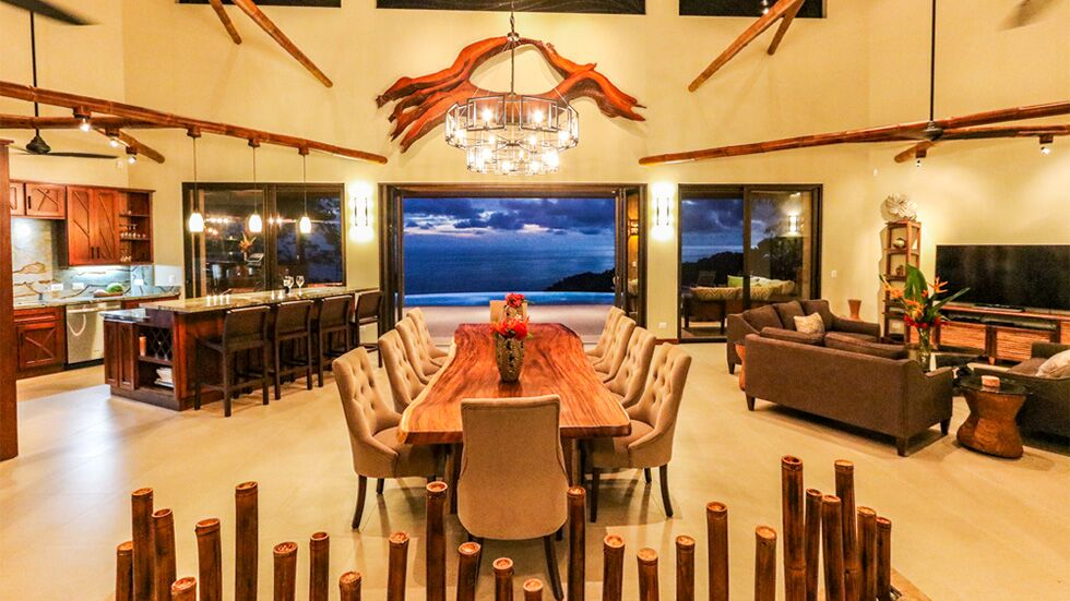 Elegant Ocean View Living in Dominical