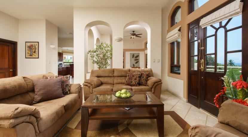 03 Pura Vida Villa Living Room to Family Ro